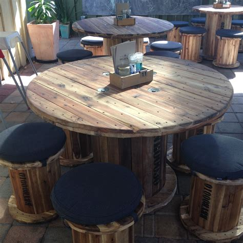 Diy Wire Wheel Table