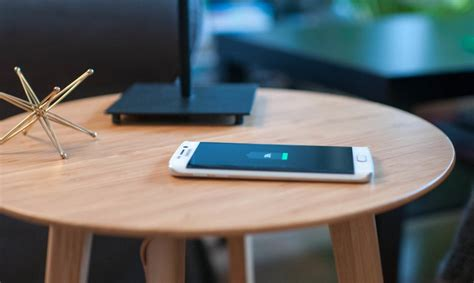 Diy Wireless Charging Table For Cafe