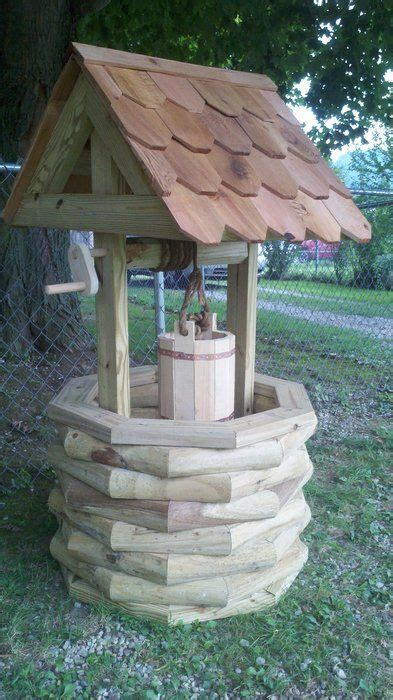 Diy Wishing Well Landscape Timbers