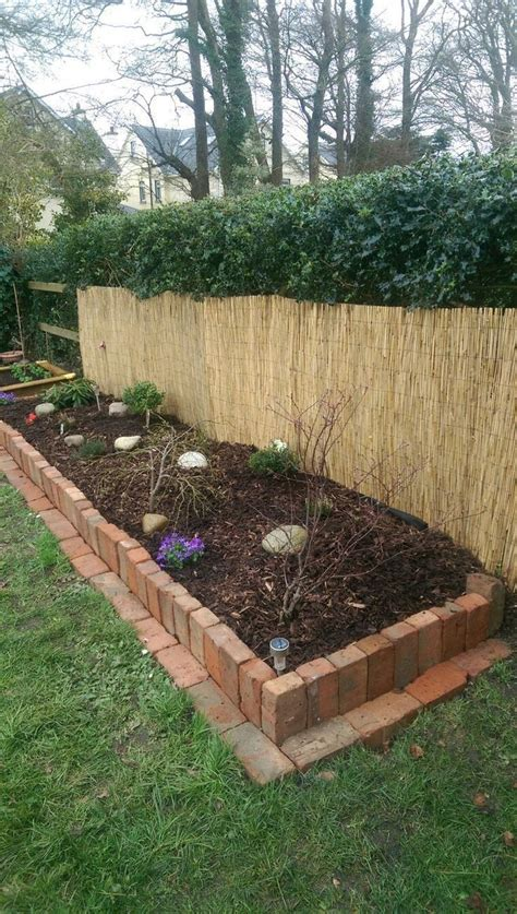Diy With Red Brick Raised Bed