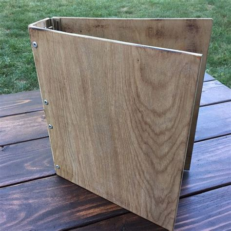 Diy Wood 3 Ring Binder