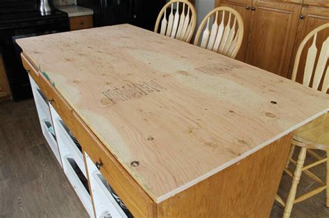 Diy Wood A Island Countertop