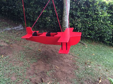 Diy Wood Airplane Swings