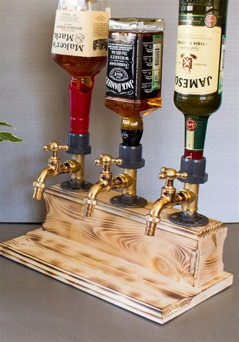 Diy Wood Alcohol Dispenser Antique