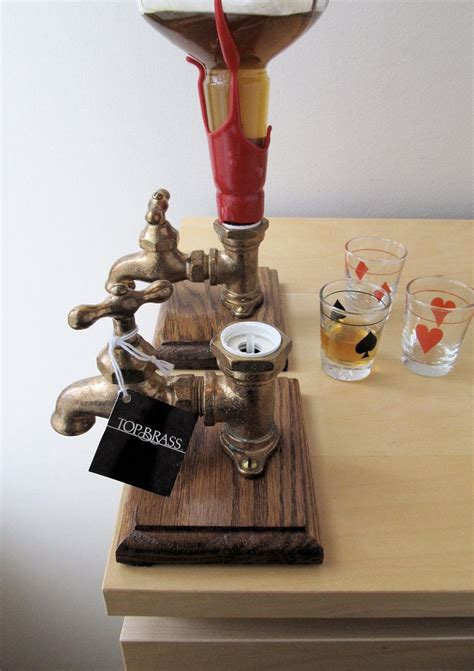 Diy Wood Alcohol Dispenser With Spigot