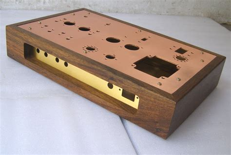 Diy Wood Amplifier Chassis