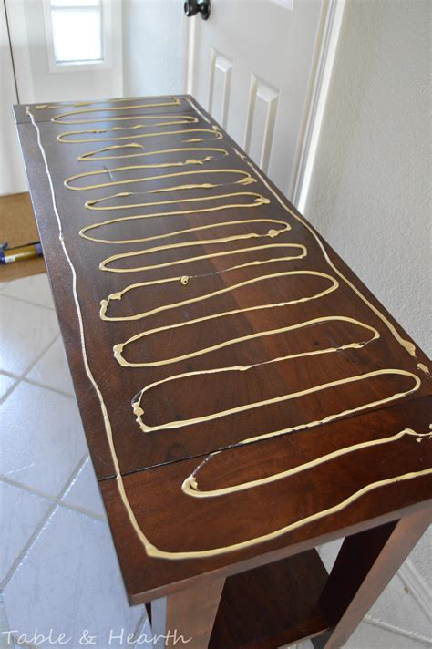 Diy Wood And Metal Table