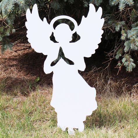 Diy Wood Angel Silouette