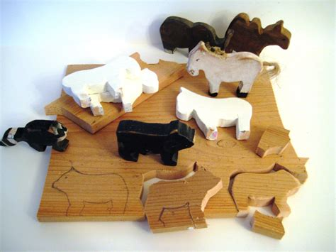 Diy Wood Animal Figures