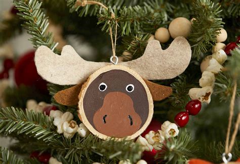 Diy Wood Animal Ornaments