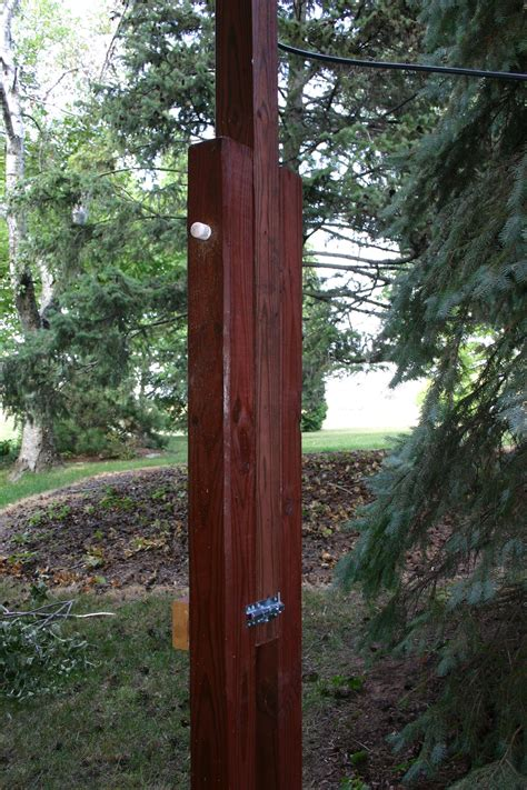 Diy Wood Antenna Tower