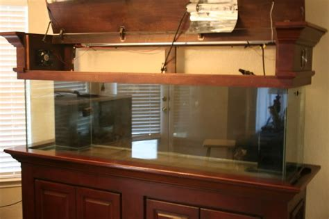 Diy Wood Aquarium Canopy For Sale