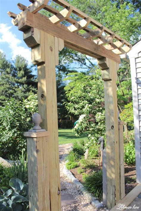 Diy Wood Arbors
