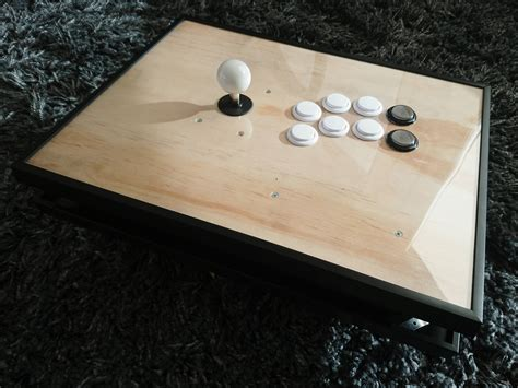 Diy Wood Arcade Stick For Pc