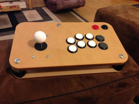 Diy Wood Arcade Stick Layout