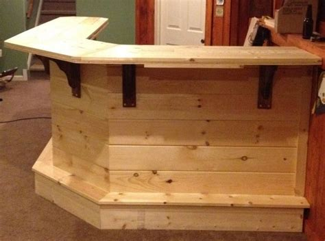 Diy Wood Bar Plans