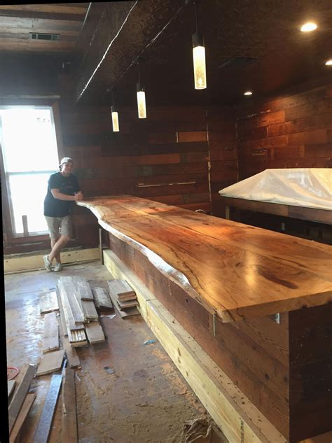 Diy Wood Bar Tops