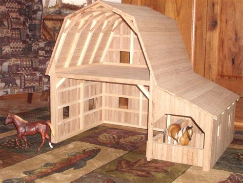 Diy Wood Barn Toys