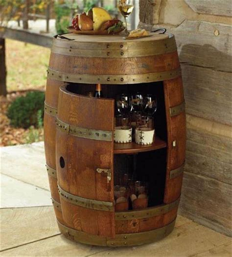 Diy Wood Barrel At Home