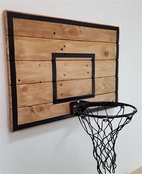 Diy Wood Basketball Backboard