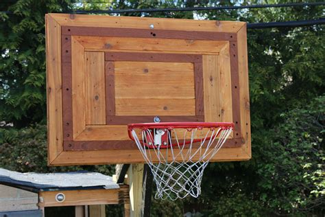 Diy Wood Basketball Pro Demension Backboard