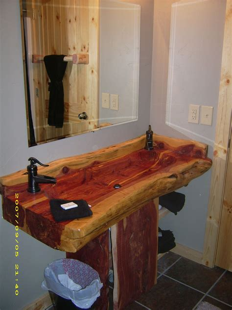Diy Wood Bathroom Sink