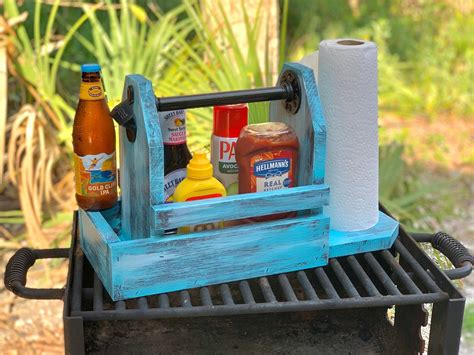 Diy Wood Bbq Caddy Image