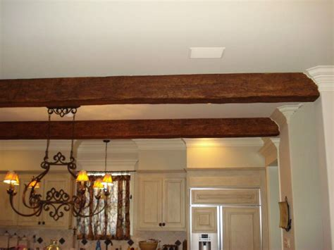 Diy Wood Beams And Crown Molding