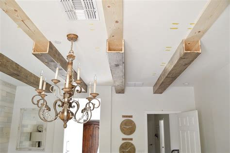 Diy Wood Beams On Ceilings
