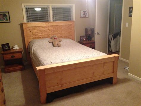 Diy Wood Bed Blueprints
