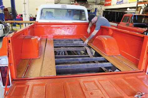 Diy Wood Bed Kit Square Body Chevy