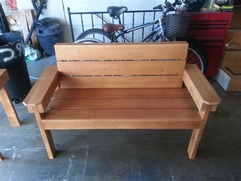 Diy Wood Bench 2x4 And 1x6