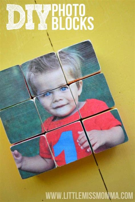 Diy Wood Block Photo Puzzle