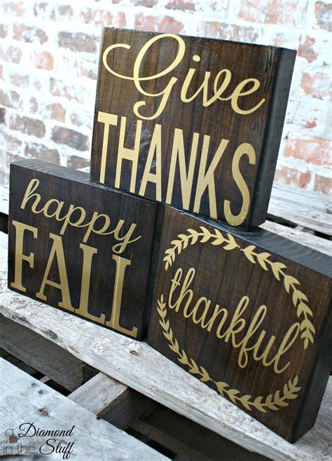 Diy Wood Block Projects Silhouette
