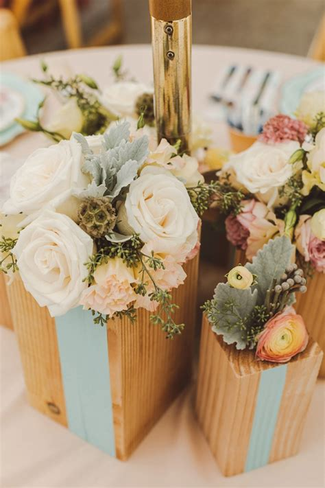 Diy Wood Block Table