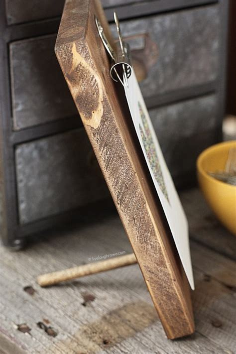 Diy Wood Board And Picture Frame