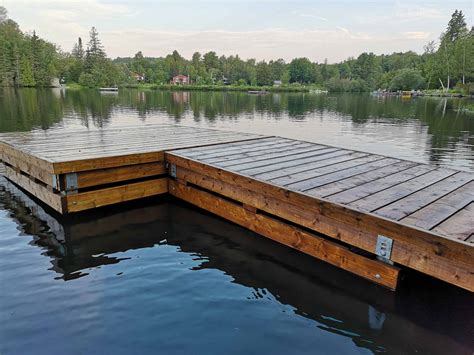 Diy Wood Boat Dock