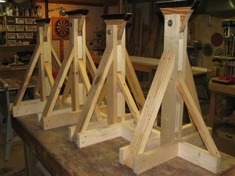 Diy Wood Boat Stands