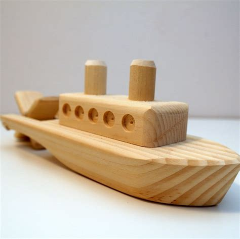 Diy Wood Boats Toys