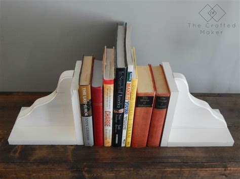 Diy Wood Book End