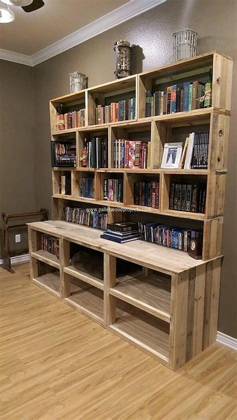 Diy Wood Bookcases