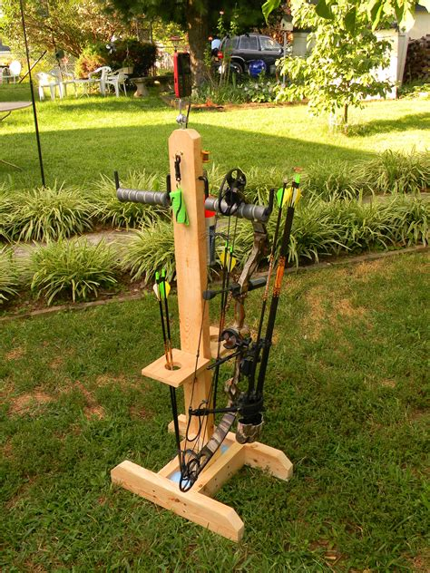 Diy Wood Bow Stand Archery