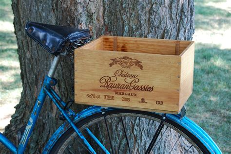 Diy Wood Box Bicycle