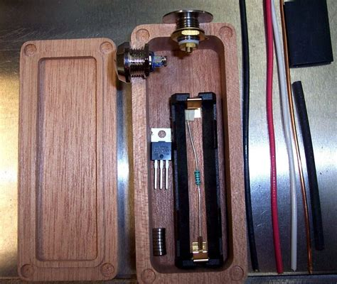 Diy Wood Box Mod Vape Kit