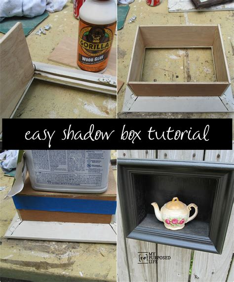 Diy Wood Box Picture Frames