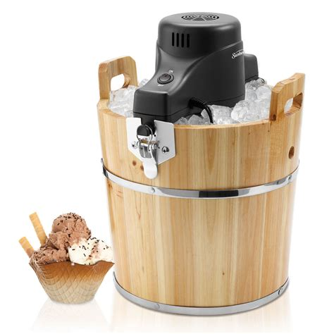Diy Wood Bucket For Ice Cream