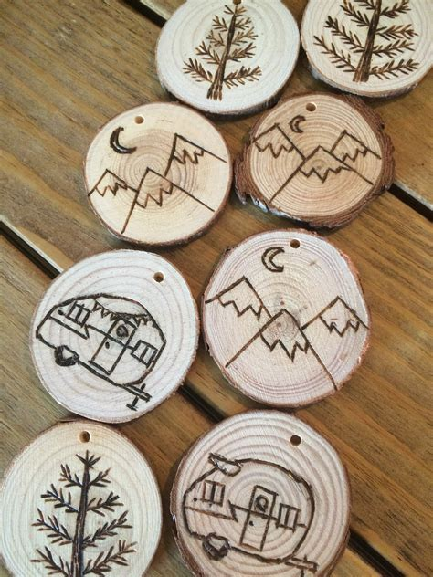 Diy Wood Burned Ornament Patterns