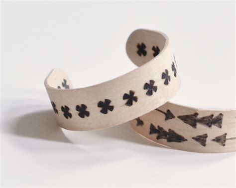 Diy Wood Burned Popsicle Stick Bracelets