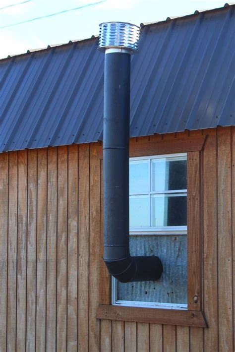Diy Wood Burner Flue Installation
