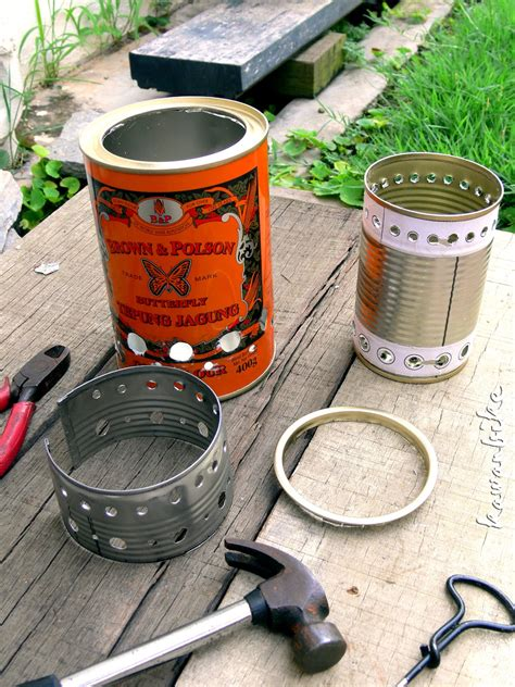 Diy Wood Burning Camp Stove